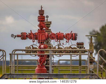 Gas Field Well Head
