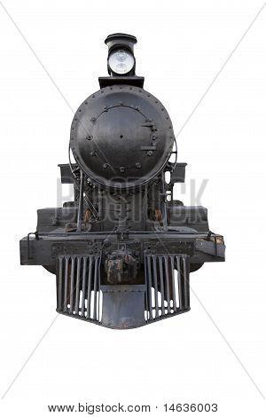 steam engine front