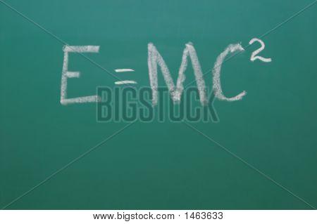 Chalkboard Emc2