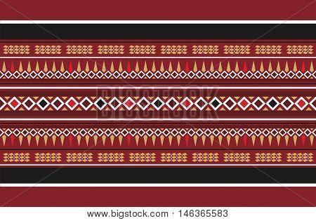 A Vintage Traditional Handmade Weaving Rug Motif