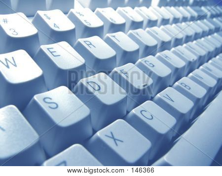 Blue Keyboard