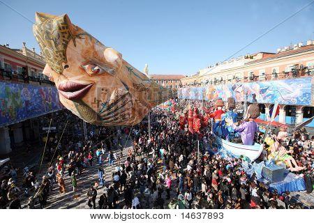 Carnival in Nice, France, 2011