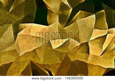 Painterly Angular Forms