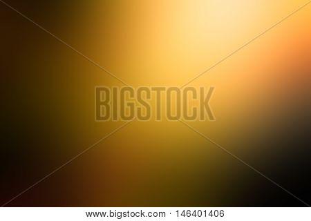 Orange gradient abstract background. dark yellow room studio background, dark tone. for used background or wallpaper