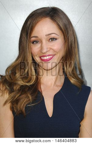 Autumn Reeser at the Los Angeles screening of 'Sully' held at the DGA Theater in Hollywood, USA on September 8, 2016.