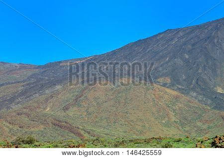 View Of The Mountains, Tenerife, Canary Islands, Spain