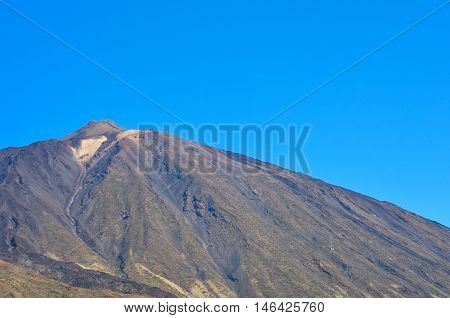 View Of Volcano Teide, Tenerife, Canary Islands,