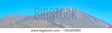 Panoramic view of volcano Teide, Tenerife, Canary islands, Spain