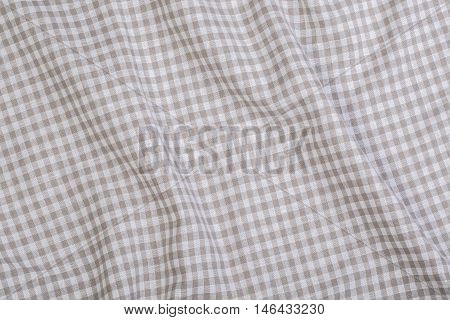 Crumpled Texture Fabric Background for your design