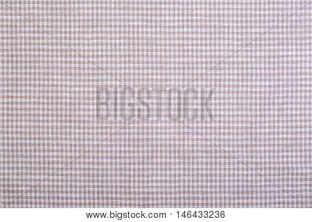 the checkered fabric closeup tablecloth texture background