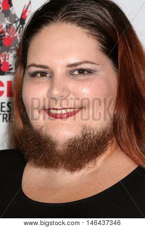 LOS ANGELES - SEP 7:  Dakota Cooke, aka Dakota The Bearded Lady at the