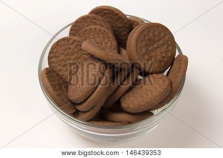 Biscuits - Recipient With Biscuits To Be Served