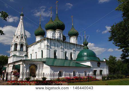 Church of Our Savior on the city. Yaroslavl, Russia