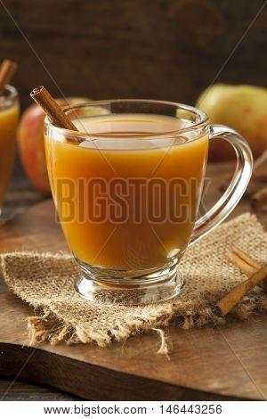 Warm Hot Apple Cider