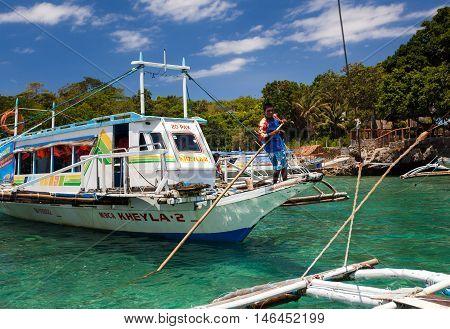 Caticlan Jetty Port. Best Way To Get To Boracay Island