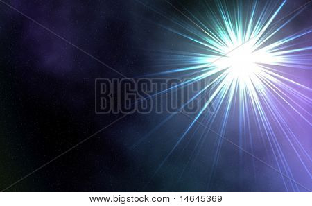 supernova star, abstract background