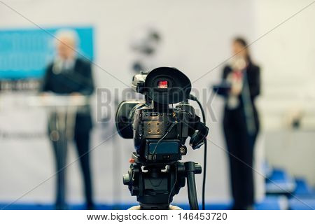 Tv Cam Recording Publicity Event