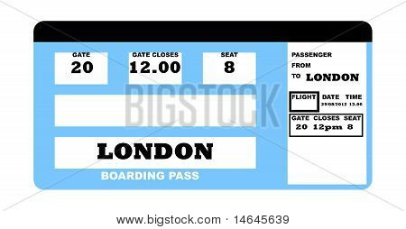 London Flight Ticket