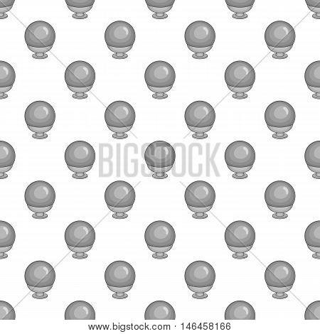 Webcam seamless pattern on white background. Video recording design vector illustration