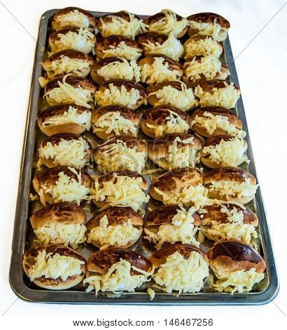 Traditional Fresh Turkish Pastry Filled with Cheese