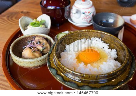 Tamago-kake-gohan, Japanese Food