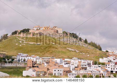 View Of Whitewashed Village