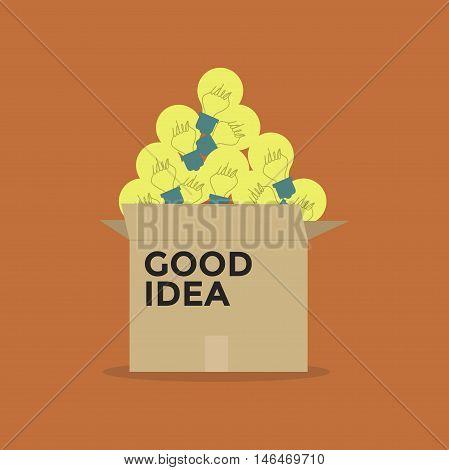 Good idea light bulb in a box