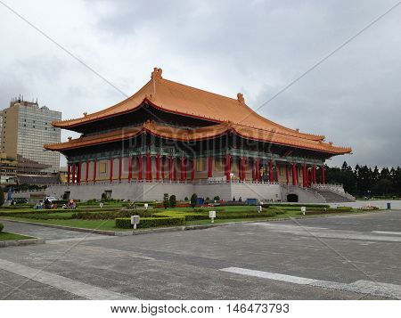 Chiang Kai-Shek Memorial Hall in Taipei. Chiang Kai-shek Memorial Hall is a popular travel destination among tourists visiting Taiwan