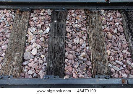 the classic railway pattern of thai train