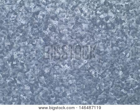 bluish grey seamless pattern on galvanized iron texture