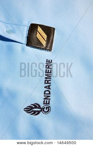 Gendarmerie shirt