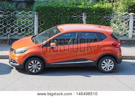Renault Captur Car In Milan