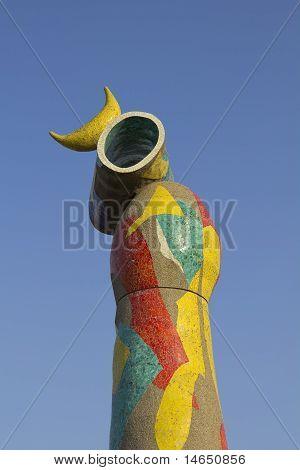 Dona I Ocell, Joan Miro, Barcelona, Spain