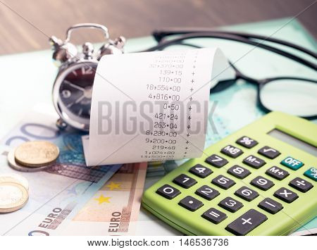Personal finances planning or financial difficulties concept