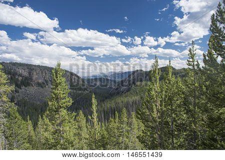 Beartooth Highway Overlook