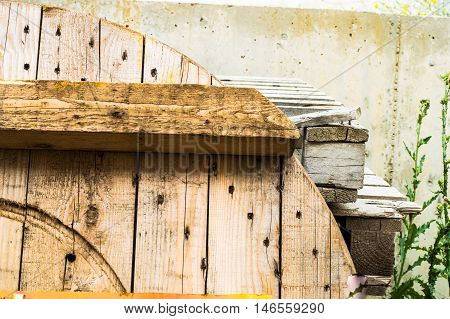 Scrap Wood For Recycling