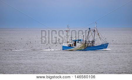 Fishing Vessel Waddensea