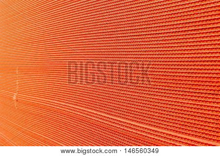 Abstract View of a Corrugated Cardboard Background
