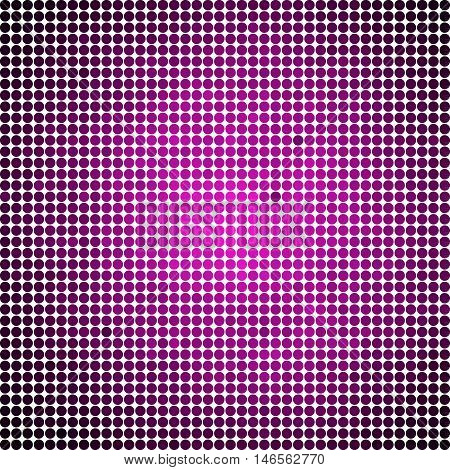abstract vector colored round dots background - magenta