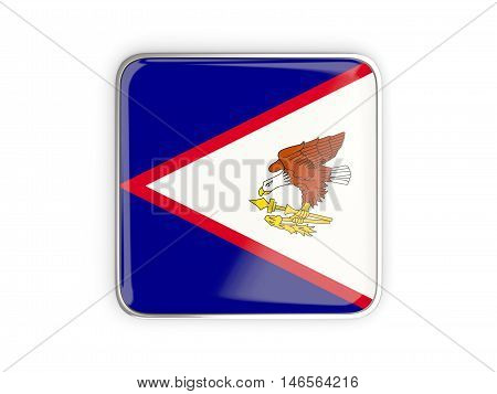 Flag Of American Samoa, Square Icon