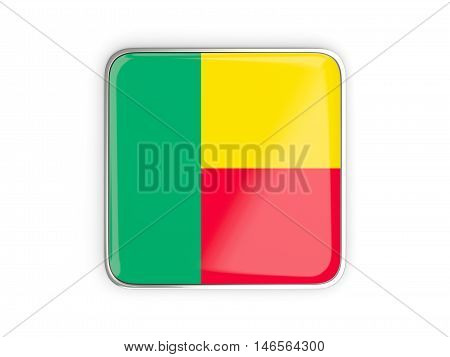 Flag Of Benin, Square Icon