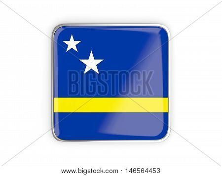 Flag Of Curacao, Square Icon