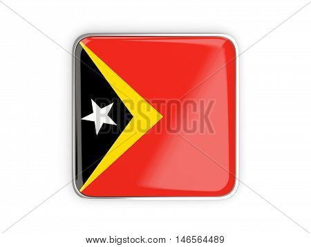 Flag Of East Timor, Square Icon