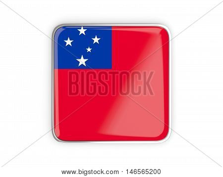 Flag Of Samoa, Square Icon