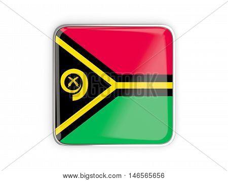 Flag Of Vanuatu, Square Icon