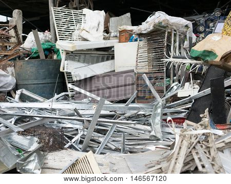Group Of Recycle Waste