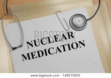 Nuclear Medication Concept