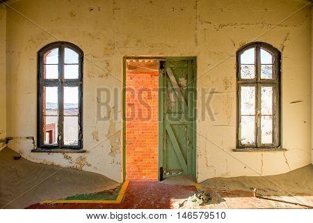 Door And Windows From Inside