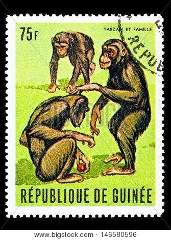 Guinea - Circa 1969