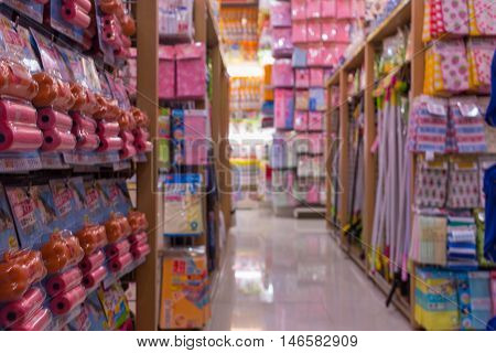 Many Types Of Goods In Convenience Store